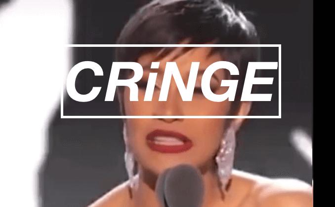 cringey awards speech joke